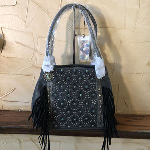 Montana West Concealed Carry Fringe Shoulder Bag